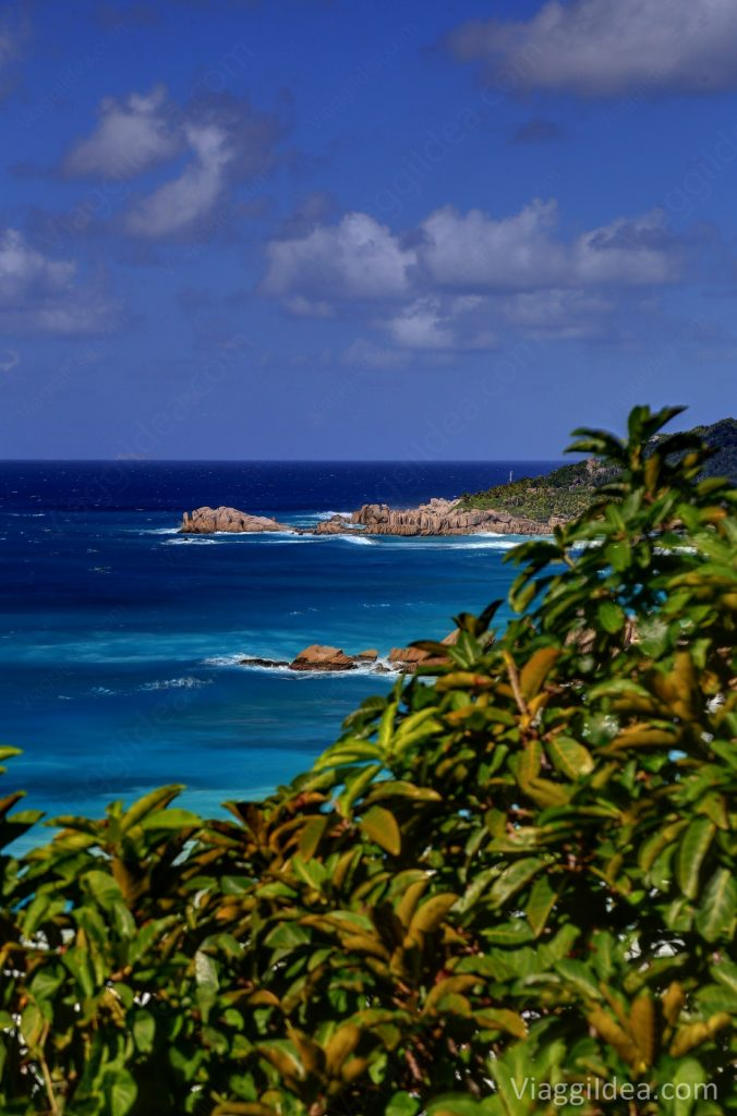 View of Petite Anse - La Digue